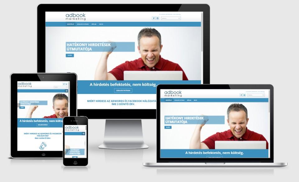 adbook.hu - teljes főoldali megjelenés