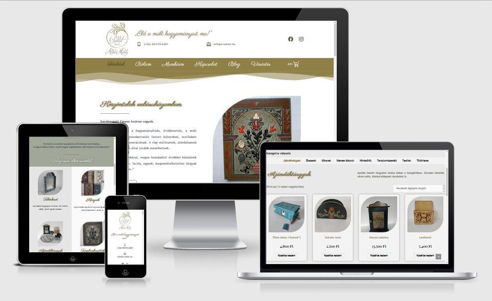 E-sublót - webáruház