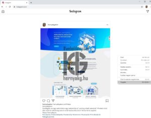 Instagram Chrome-ban