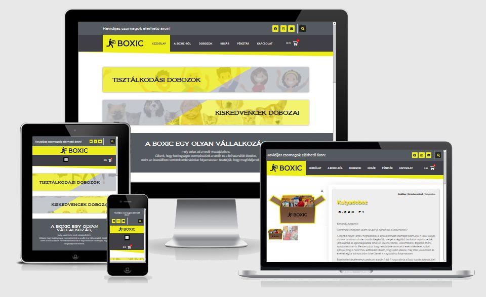 BOXIC webáruház - Hernyák Gábor e.v.